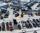 Targi motoryzacyjne w centrum handlowym