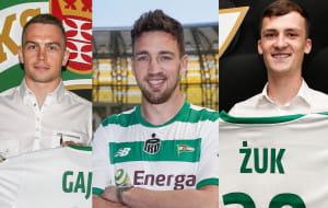 Lechia Gdańsk. Transfery: Paweł Żuk, Mario Maloca, Maciej Gajos