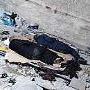 Bezdomni nocują w remontowanej części tunelu pod dworcem w Gdańsku