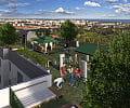 Zielone dachy budynków mieszkaniowych w Trójmieście