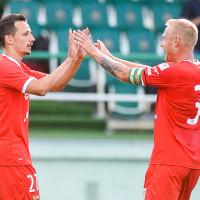 Lechia Gdańsk - Olympiakos Pireus 1:1 w sparingu. Borysiuk rozwiązał kontrakt
