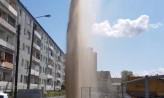 Fontanna z wodociągu na Stogach