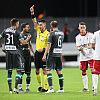 ŁKS Łódź - Lechia Gdańsk 0:0. Żarko Udovicić wyrzucony z boiska