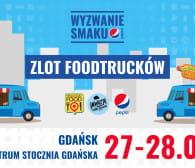 Food trucki na Wyzwaniu Smaku Pepsi w CSG