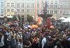 Manifestacja młodych przy Neptunie