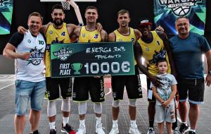 Koszykówka. Energa 3x3 Gdańsk wygrała Warsaw 3x3 FIBA Satellite