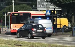 Gdańsk: autobus potrącił kobietę z dzieckiem