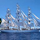 Brazylijska fregata płynie do Gdyni