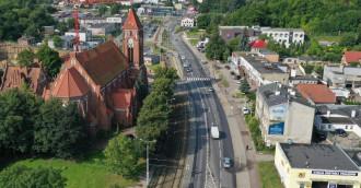 Najdłuższa ulica w Trójmieście widziana z góry