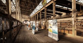 Wystawa w miejscu pracy Anny Walentynowicz