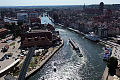 Kładka na Wyspę Spichrzów przypłynęła do Gdańska