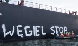 Interwencja służb ws. blokady transportu węgla do Gdańska