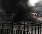 Po pożarze auta tunel pod Forum Gdańsk wciąż zamknięty