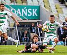Lechia Gdańsk - Lech Poznań 2:1. Jest wygrana u siebie w ekstraklasie w tym sezonie