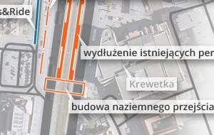 Bliżej powstania przejścia naziemnego przy dworcu w Gdańsku