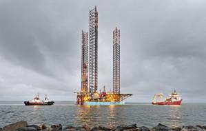 Platforma Giant weszła do gdańskiego portu