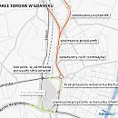 W weekend duże zmiany w komunikacji i na drogach w Gdańsku