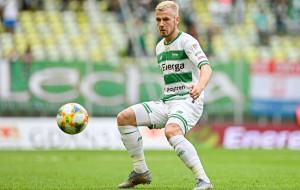 Piłkarze Lechii Gdańsk w kadrach. Tomasz Makowski strzelił gola Niemcom
