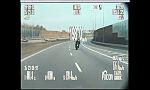 Pijany motocyklista jechał blisko 200 km/h
