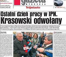 Odwołanie dyrektora gdańskiego IPN