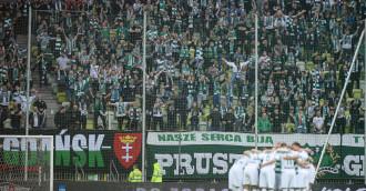 Derby Arka Gdynia - Lechia Gdańsk bez kibiców w sektorze gości