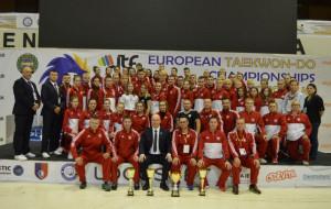 Gdański Klub Taekwon-do z medalami mistrzostw Europy