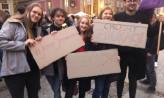 Protest w Gdańsku przeciwko karaniu za edukację seksualną