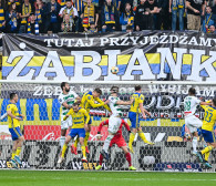 Arka Gdynia - Lechia Gdańsk 2:2 w derbach Trójmiasta. Gol w 100. minucie