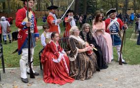 Piknik historyczny w Parku Oruńskim