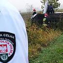 Pracownicy Służby Celno-Skarbowej pomogli ofierze wypadku