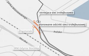 Trolejbusy na akumulatorach dojadą do północnych dzielnic Gdyni