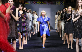 Pokaz marki Grace Collection na Moscow Fashion Week