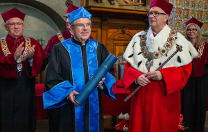 Prezydent MKOl z tytułem doktora honoris causa UG