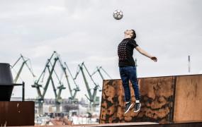 """Gdyński mistrz freestyle football w """"Mam Talent"""""""