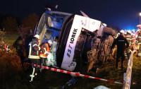 Wypadek autokaru z Gdańska pod Hamburgiem. 13 osób rannych