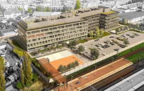 Nowy biurowiec przy SKM Oliwa będzie gotowy w 2021 roku