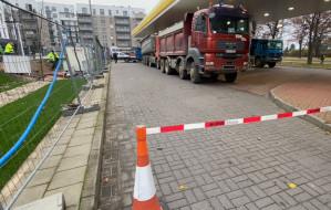 Spór o stację paliw przy al. Hallera w Gdańsku