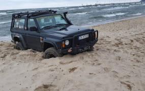 Off-road samochodem po plaży kosztuje nawet 5 tys. zł