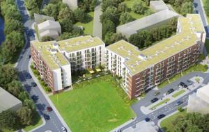Nowy budynek mieszkalny w centrum Gdańska
