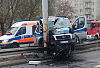 Policjant w śpiączce po wypadku
