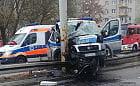Policjant w śpiączce po wypadku w Gdyni