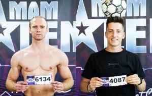 """Artur Cichuta i Łukasz Chwieduk w finale """"Mam talent!"""""""