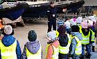 Przedszkolaki odwiedziły komisariat wodny