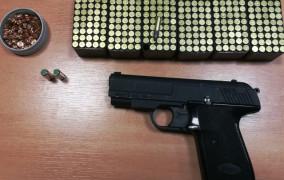 300 sztuk amunicji w bagażniku sklepowego złodzieja
