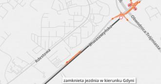 Trasa Kaszubska: wyburzenia i zmiany ruchu w Gdyni