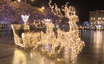 Świąteczne iluminacje w Gdyni i Sopocie...