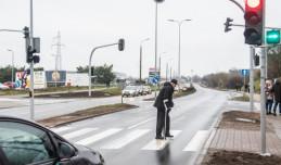 W Gdyni powstało przejście wykrywające pieszych