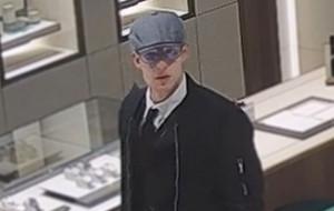 Ukradł zegarek warty 144 tys. zł. Rozpoznajesz go?