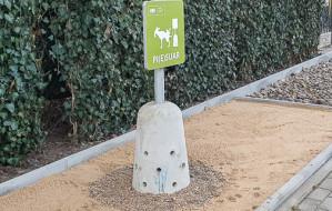 Pierwszy pisuar dla psów stanął w Gdańsku. Ma chronić zieleń przed moczem