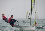 Mikołaj Staniul i Jakub Sztorch, żeglarze YKP Gdynia wicemistrzami Europy juniorów